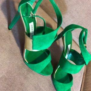 Green/gold Jimmy choo heels